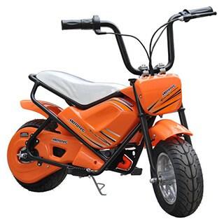 MotoTec 24v Electric Orange Mini Bike