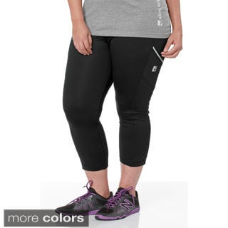 Live Life Large Women's Plus Size Heavyweight Workout Tights