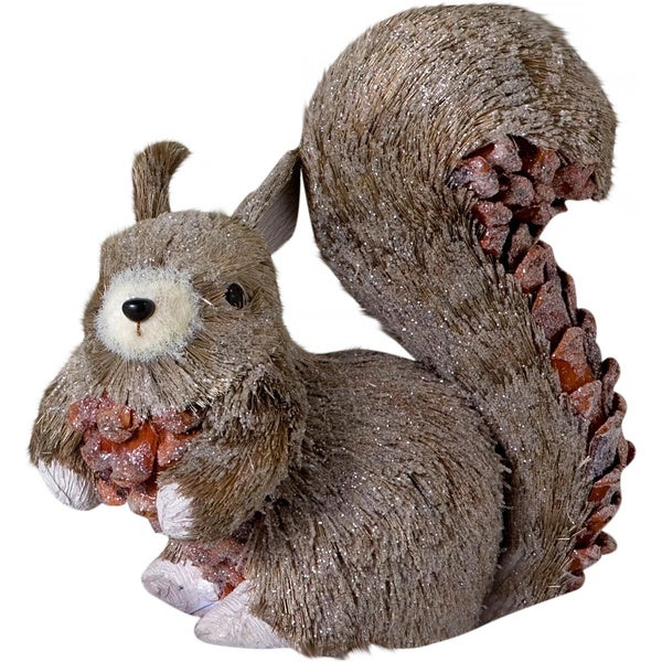 Sage & Co 6.5-inch Small Sisal Squirrel (Pack of 4)