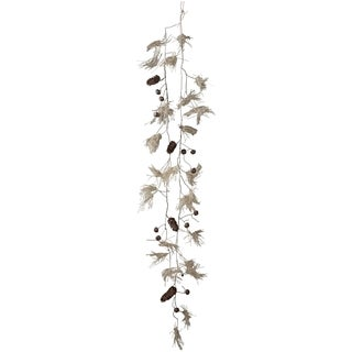 Sage & Co 48-inch Fringed Burlap Garland Spray W (Pack of 6)