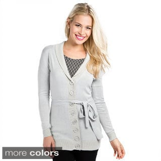 DownEast Basics Women's Shawl Colllar Cardigan
