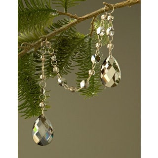 Sage & Co. 21-inch Crystal Drop Christmas Ornament from the David Tutera Home Collection