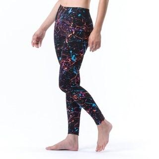 Electric Yoga Women's Black Graffiti Workout Pants