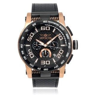 Invicta Men's 15904 'S1 Rally' Roman Numeral Leather Strap Watch