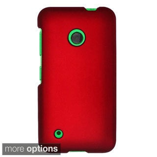 INSTEN Rubberized Hard Snap-On Phone Case Cover For Nokia Lumia 530