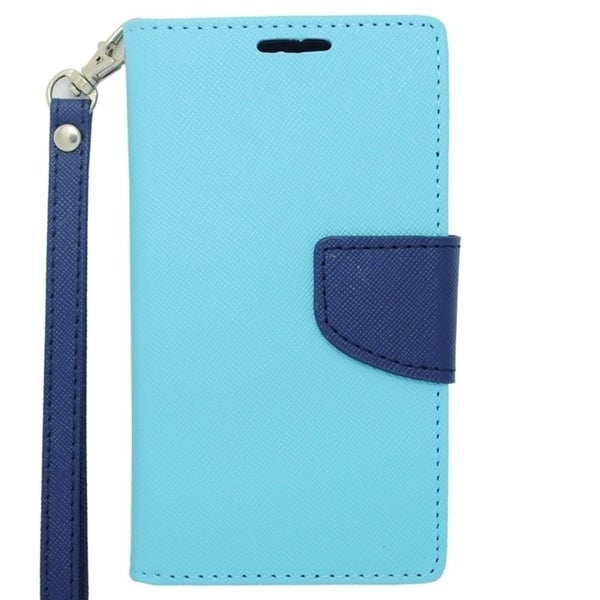 INSTEN Stand Leather Folio Book-Style Flip Phone Case Cover For Nokia Lumia 635
