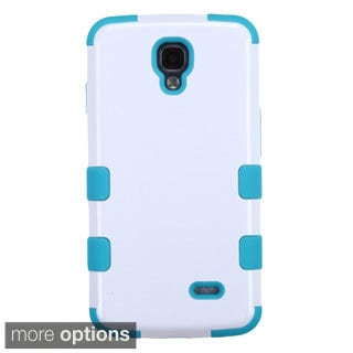INSTEN Tuff Dual Layer Hybrid Rubberized Hard PC/ Silicone Phone Case Cover For LG Volt LS740