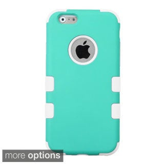 INSTEN Tuff Dual Layer Hybrid Rubberized Hard PC/ Silicone Phone Case Cover For Apple iPhone 6 4.7-inch