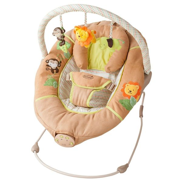 Summer Infant Swingin' Safari Sweet Comfort Musical Bouncer