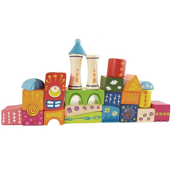 Hape Fantasy Blocks Castle