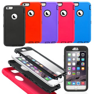 Gearonic Hybrid Silicone/ Rugged Case for 5.5-inch Apple iPhone 6 Plus