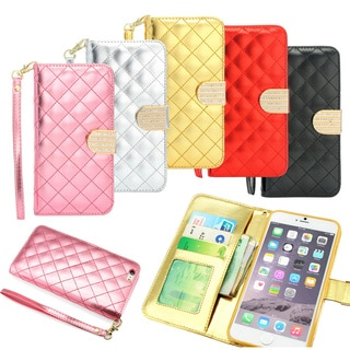 Gearonic Luxury Magnetic Flip Wallet Case for 5.5-inch Apple iPhone 6 Plus