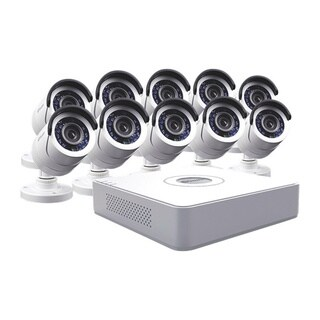 Swann 16-Channel DVR 10-camera Surveillance System with 500GB HDD