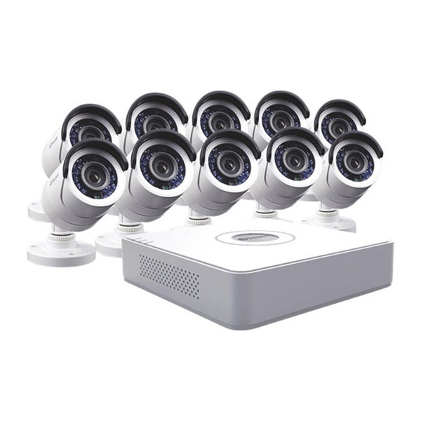 Swann 16-Channel DVR 10-camera Surveillance System with 500GB HDD