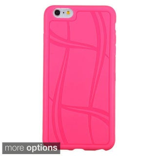 INSTEN Sport Pattern TPU Rubber Candy Skin Phone Case Cover For Apple iPhone 6 Plus 5.5-inch