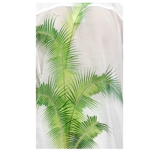 Men's Cotton 'Bali Palm' Shirt (Indonesia)