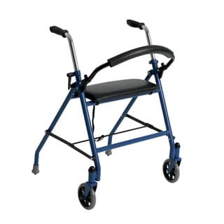 Two-wheeled Walker with Seat