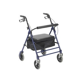 Bariatric Rollator with 7.5-inch Wheels