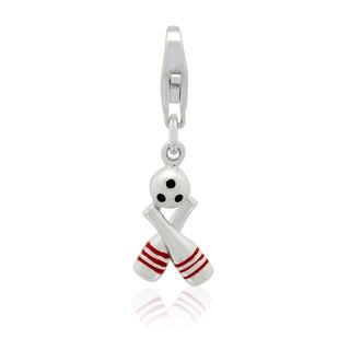 Gioelli Sterling Silver Bowling Charm
