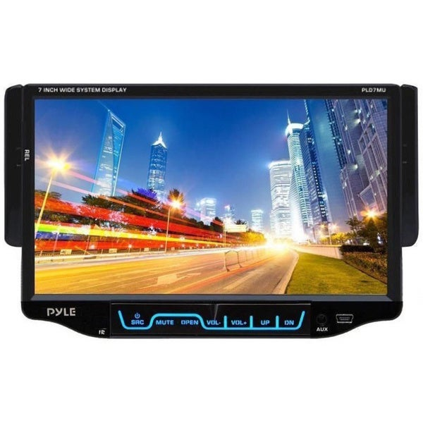 Pyle PLD7MU 7-inch Single DIN TFT Touch Screen Receiver (Refurbished)