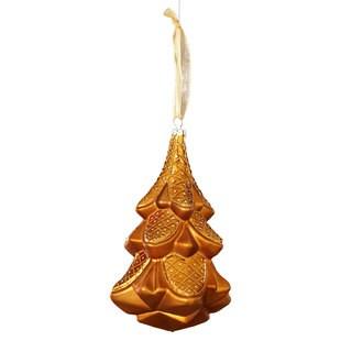 Sage & Co 6.25-inch Christmas Tree Glass Christmas Ornament