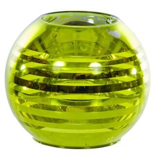 Sage & Co 3-inch Green Glass Tea Light Holder (Pack of 6)