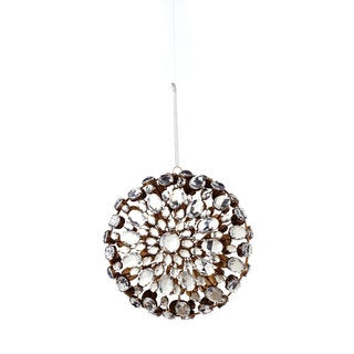 Sage & Co 7-inch Jeweled Medallion Clasp Christmas Ornament