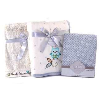 Nurture Owls and Birds Baby Crib Bedding Bundle