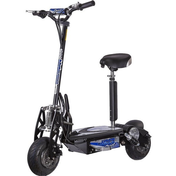 UberScoot 500 Watt Black Electric Scooter