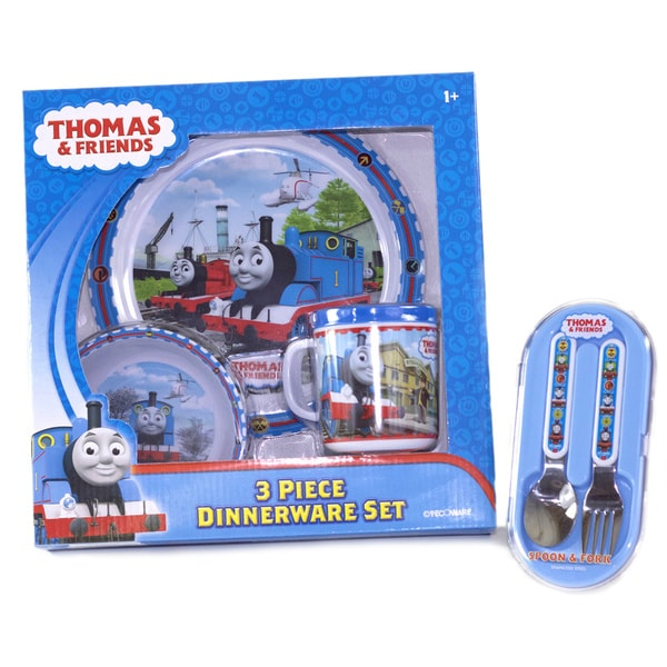 Thomas The Tank Engine & Friends Dinnerware Bundle