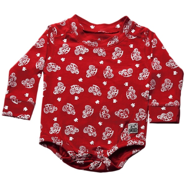 Case IH Neutral Allover Print Bodysuit