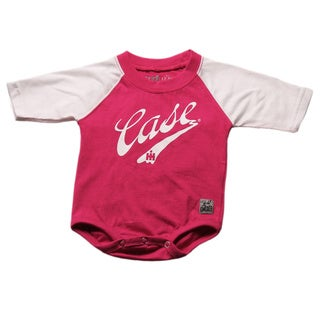 Case IH Girls' Logo Print Infant Baseball Bodysuit