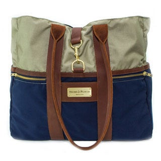 Sword & Plough Signature Coast Guard Blue Tote Handbag