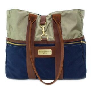 Sword & Plough Signature Coast Guard Blue Tote Handbag