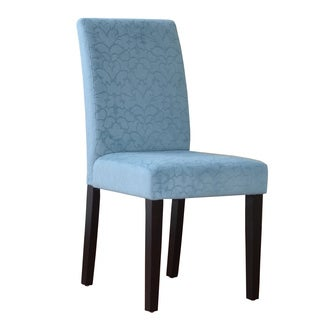 Linon Blue Upton Parsons Chair
