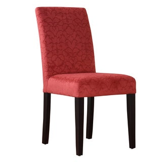 Linon Tomato Red Upton Parsons Chair