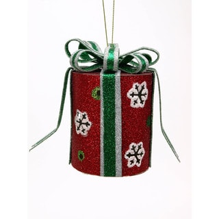 Sage & Co 3.75-inch Christmas Gift Box Ornament (Pack of 6)