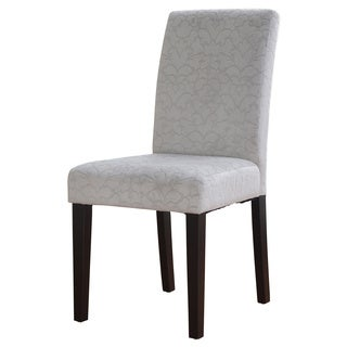 Linon Charcoal Gray Upton Parsons Chair