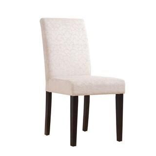 Linon Beige Upton Parsons Chair