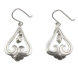 Handcrafted Sterling Silver 'Sweet Renewal' Dangle Earrings (Mexico)