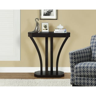 Cappucino 32-inch Hall Console Accent Table