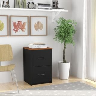 Altra Inspired Cherry 2-drawer File Cabinet