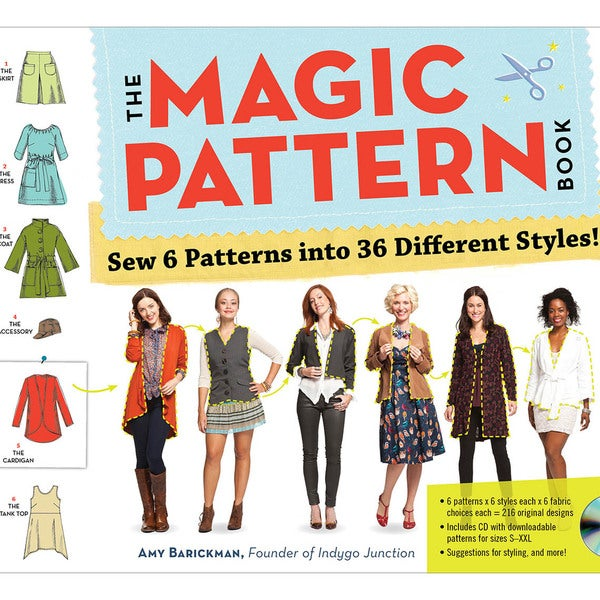 Workman Publishing-The Magic Pattern Book