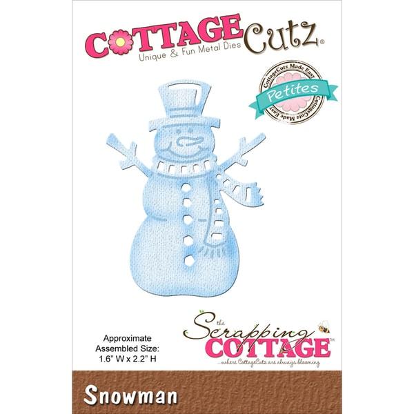 CottageCutz Petites Die-Snowman