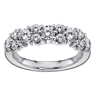 White Gold 2ct TDW Brilliant-cut Garland Diamond Wedding Band (G-H, SI1-SI2)