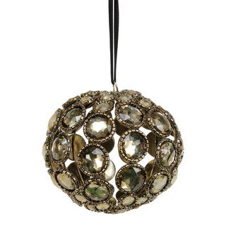 Sage & Co 3-inch Antique Gem Ball Christmas Ornament (Pack of 9)