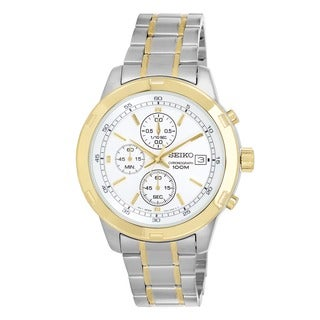 Seiko Men's SKS432 Stainless Steel Chronograph Watch