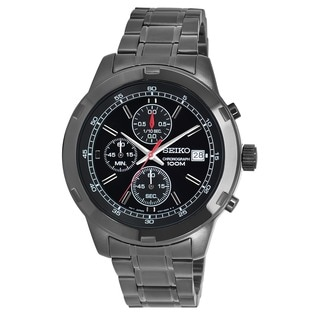 Seiko Men's SKS437 Stainless Steel Chronograph Watch