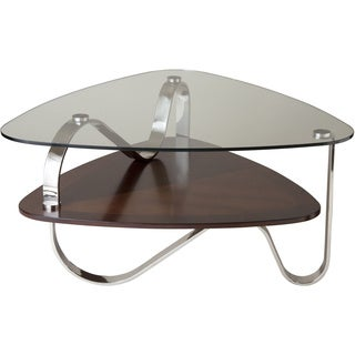 Tribeca Glass-top Urban Cocktail Table