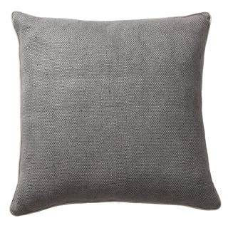 Metropolitan Graphite 20-inch Feather and Down Filled Throw Pillow